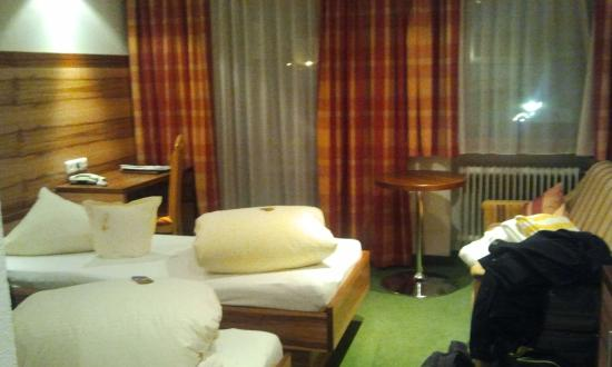 Hotel Arnika : The room
