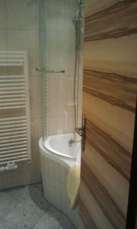 Hotel Arnika : The bathroom