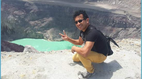 National Park Cerro Verde: Volcan crater