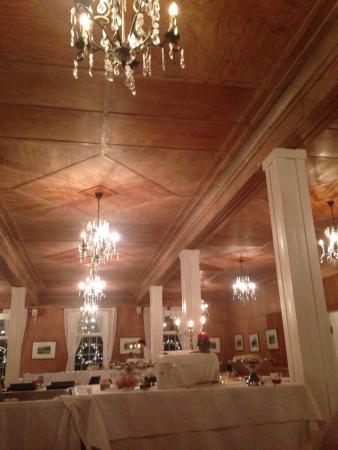 Langesund Bad: Dining room