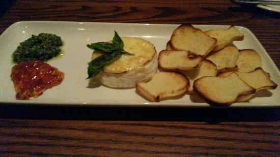 The Keg Steakhouse & Bar Hamilton: Baked brie