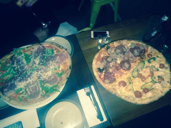 Pizza Boccone : The main