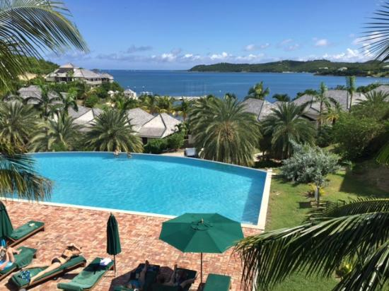 Nonsuch Bay Resort: View from the balcony