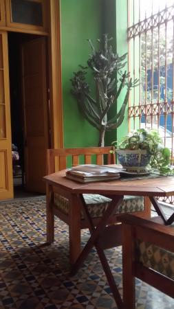 Hostel Domeyer: room entrance
