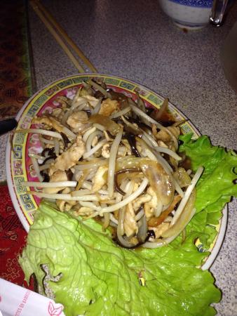long chau: Porc aux pousses de soja