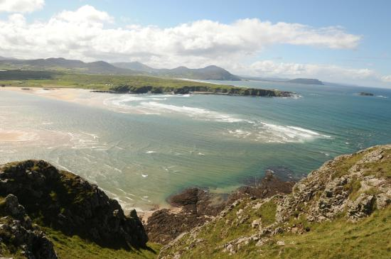 Malin, Ireland: VIEW FROM TOP 5 FINGERS BEACH LAGG