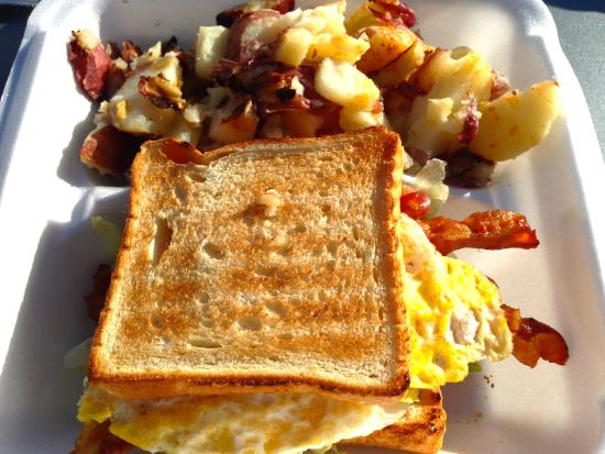 Paul's Kitchen: Great breakfast to go