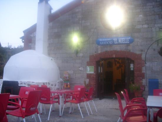 Restaurante Asador El Muelle : El Muelle oven