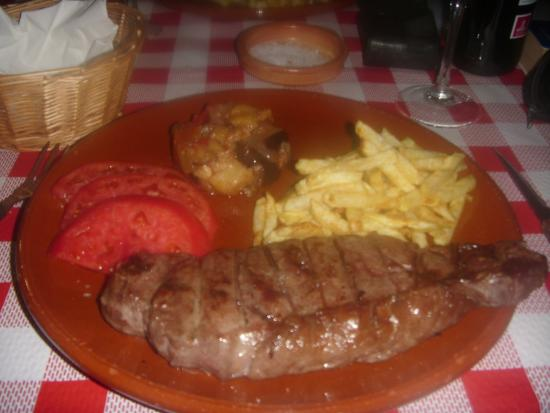 Restaurante Asador El Muelle : Galician steak