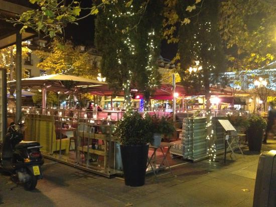 Foto de restaurante lateral santa ana madrid terraza - Terrazas romanticas madrid ...