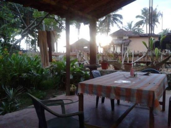 AsinMomo Homestay: The verandah