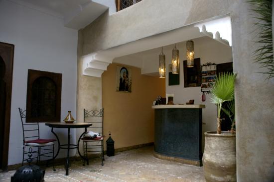 Riad Dar Saba: ingresso e reception