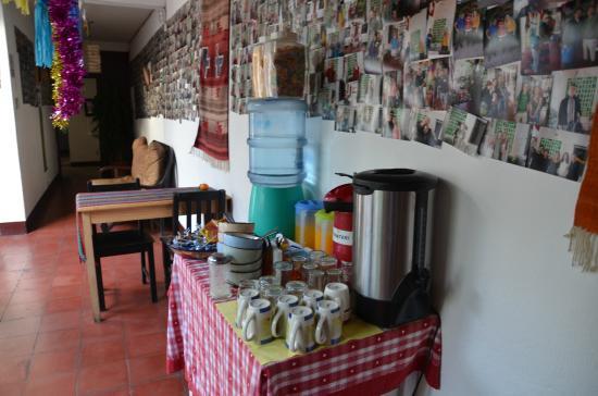 Mañanas Hotel: 24/7 snacks availabe