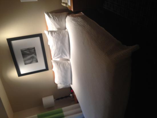 Fairfield Inn & Suites Columbus OSU: King suite bed