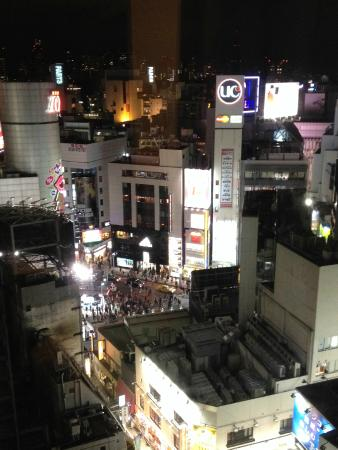 Shibuya Excel Hotel Tokyu : Night View from room