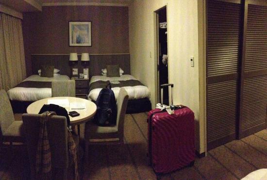 Shibuya Excel Hotel Tokyu : bed room view 1