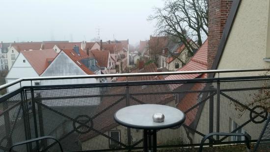 Dom Hotel: Вид с балкона