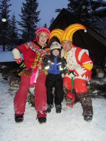 Lapland Hotel Luostotunturi: Speedy Sam and Tricky Dicky