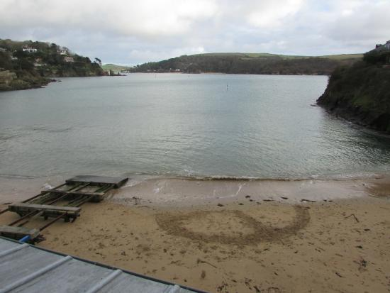 South Sands Hotel: View from room 18