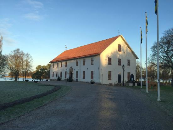 "Sundbyholms Slott: Main entrance to the ""Slott"""