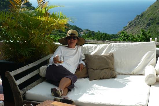 Queen's Gardens Resort & Spa: vue de la terrasse bar