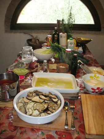 Toscana Mia : our cooking class