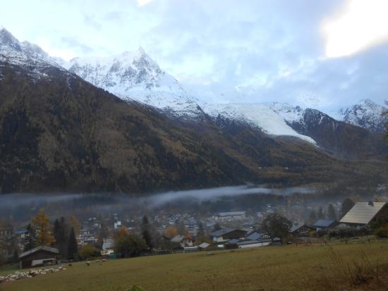 Glacier des Bossons: Linda imagem.