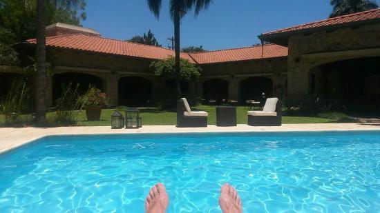 Las Lomas Casa Hotel: a la piscina