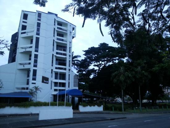 De Vos on the Park: the YWCA building