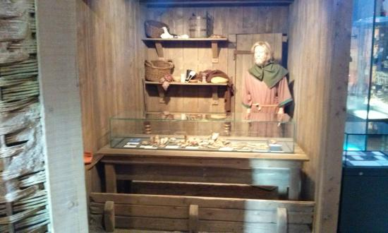 The Collection / Usher Gallery : Recreation of an archaic stall.
