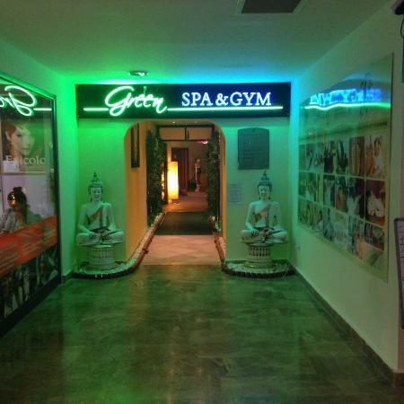 Green Nature Resort & Spa: Spa and gym entrance