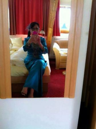 Landhotel Sonneck: Selfie in the room.