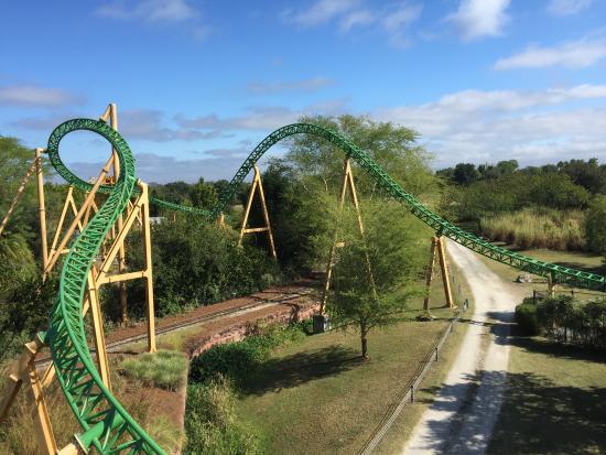 Busch Gardens: Cheetah Run  Pic Taken From Sky Ride : )