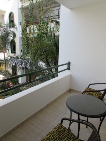 Balandra Hotel: Balcon