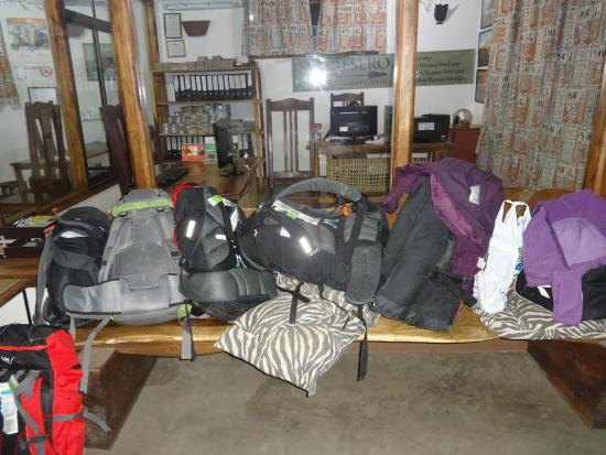 Arusha Backpackers Hotel: Recepcja