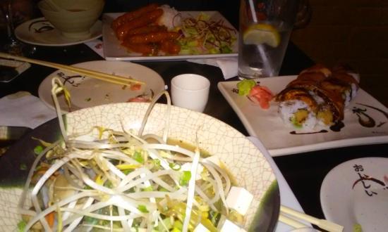 Takosushi: The whole spread