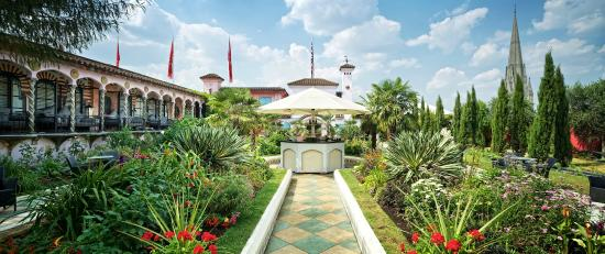 Photo of Restaurant Babylon at The Roof Gardens at 99 Kensington High St., London W8 5JA, United Kingdom