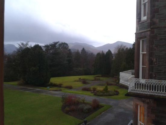 The Keswick Country House Hotel: bedroom window