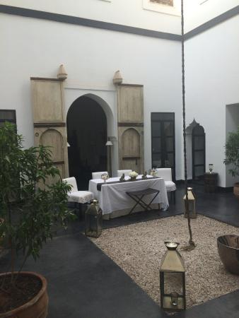 Dar Seven: Centre of Riad.