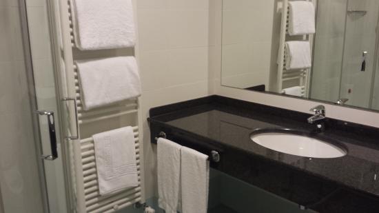 Garden Hotel Arezzo: particolare del bagno