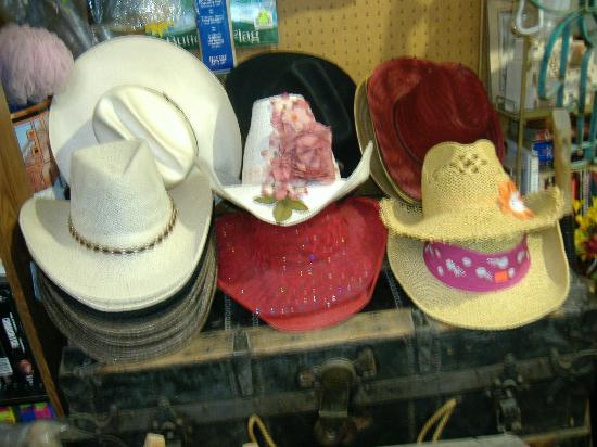 Lots of cowboy hats for sale in store - Picture of Ferro s Blue Mesa ... 7e97d5385bc