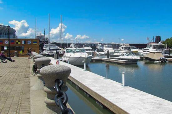 Rock and Dock at North Coast Harbor Marina