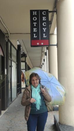 Hotel Cecyl: Frente do hotel