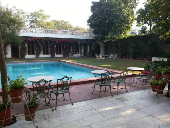 Pool Side Picture Of Hotel Meghniwas Jaipur Tripadvisor