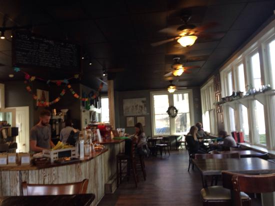 Kudu Coffee & Craft Beer: Cool.  Hip.  Laid back.  Great coffee.  Popular with the locals.