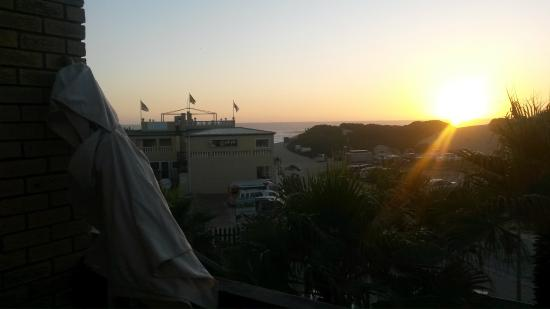 Shearwater On Sea: Sunset view from balcony
