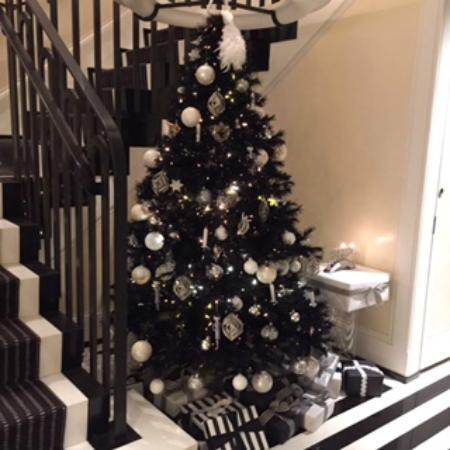 The Mark: Christmas Tree in the lobby