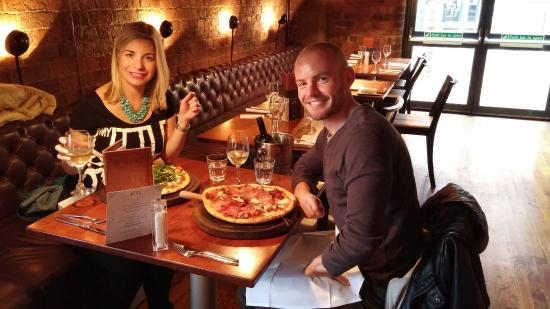 Gusto Liverpool: Lovely lunch!
