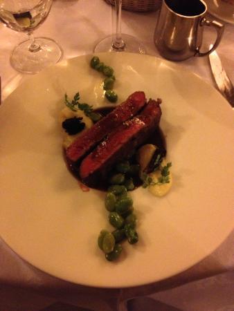 Restaurant Le terroir : メインの Flank Steak