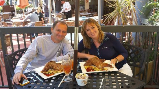 Citrus Seafood Restaurant : Hog fish baked whole